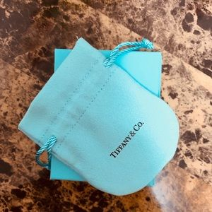 Tiffany & Co. gift box and velvet pouch (small)